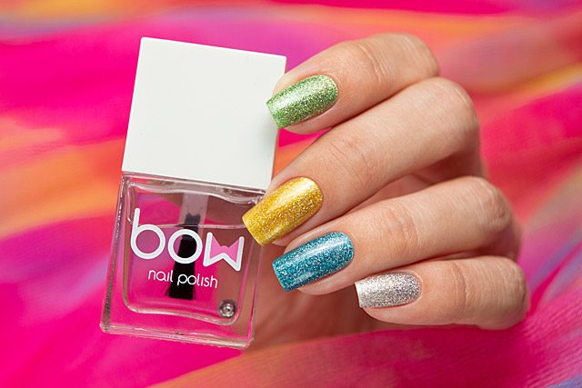 Fast Dry Sun Top | Bow Nail Polish Summer 2020