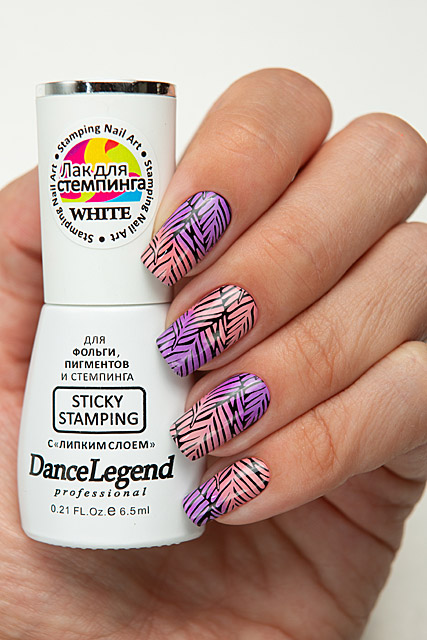 Sticky Stamping White | Dance Legend professional